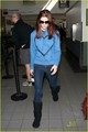 Ashley Greene leaves for Vancouver for Breaking Dawn - twilight-series photo