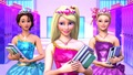búp bê barbie princess sharm school