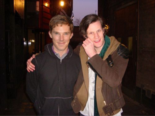 Benedict and Matt  - benedict-cumberbatch Photo