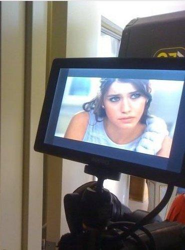 Beren Saat in Ask-i Memnu (Behind Scenes)
