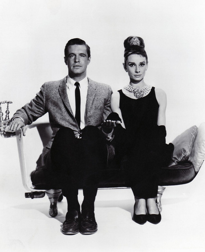 Breakfast at Tiffany's - Audrey Hepburn and George Peppard - breakfast-at-tiffanys Photo