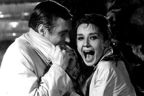 Breakfast at Tiffany's - Audrey Hepburn and George Peppard