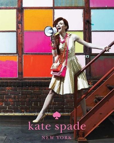Bryce Dallas Howard for Kate Spade's spring line 2011