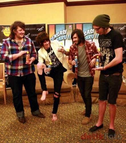 Chris, Caleb, Taylor, and Hayden
