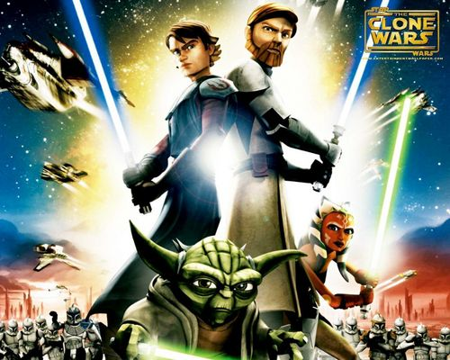 ster Wars: Clone Wars achtergrond containing anime and a fontein entitled Clone Wars
