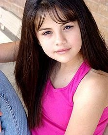 Cute Selena as a little girl