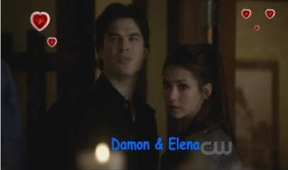 Damon + Elena