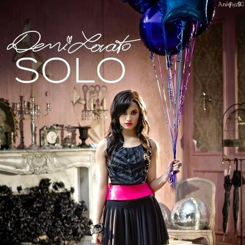 Demi Lovato - Solo [My FanMade Single Cover]
