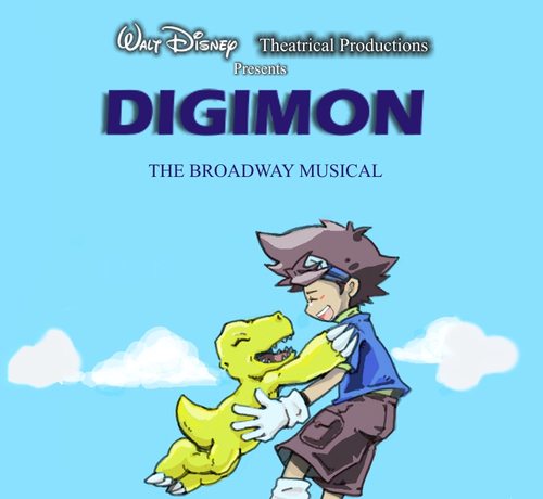 Disney Present Digimon on Broadway