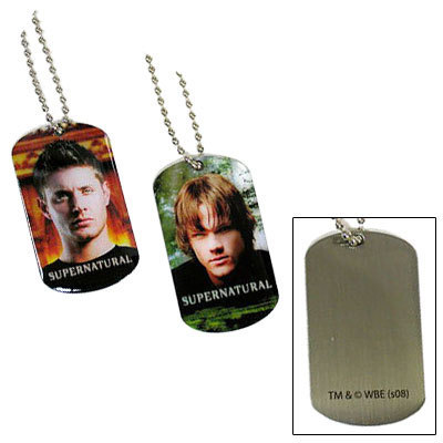 Winchester's Journal wallpaper titled Dog Tags