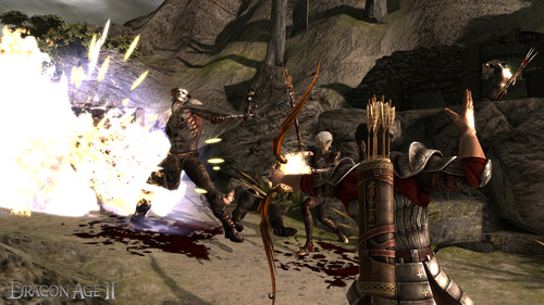 Dragon Age II- Rogue Fighting