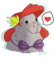 Dugong Ariel xD - disney-leading-ladies fan art