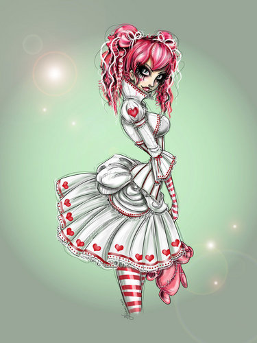 Emilie manga style