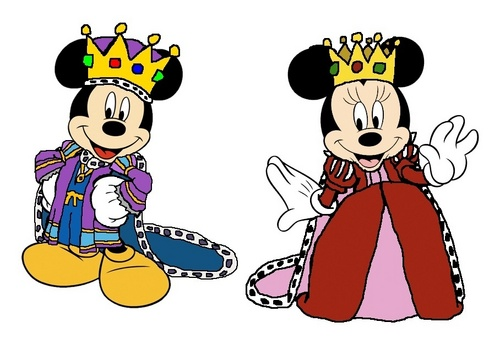 Emperor Mickey and Empress Minnie