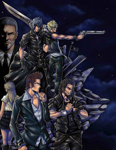 Final Fantasy Versus XIII wallpaper containing anime called FF 13 versus