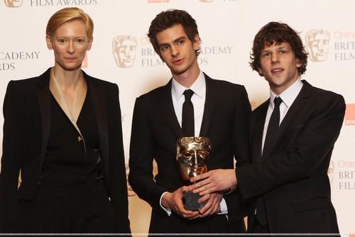 February 13th: British Academy Film Awards - Backstage