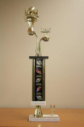 Flag Football trophy won द्वारा Buckley team