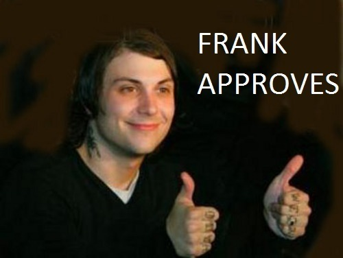 Frank Approves!