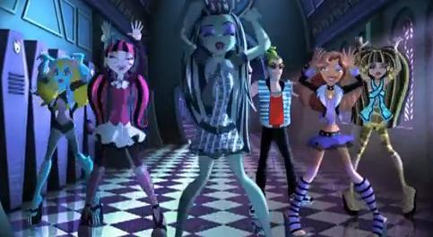 মনস্টার হাই দেওয়ালপত্র called Fright Song - Monster High Theme