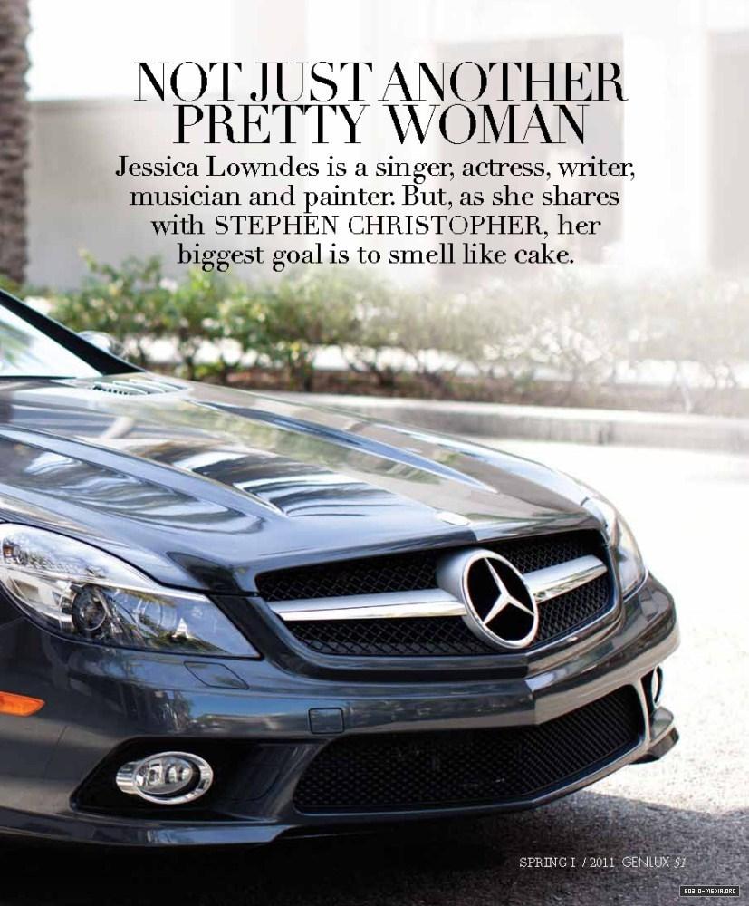 Genlux Magazine (Spring 2011) - Jessica Lowndes