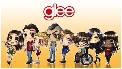 Glee animated