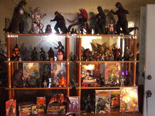 Godzilla collection January 2011