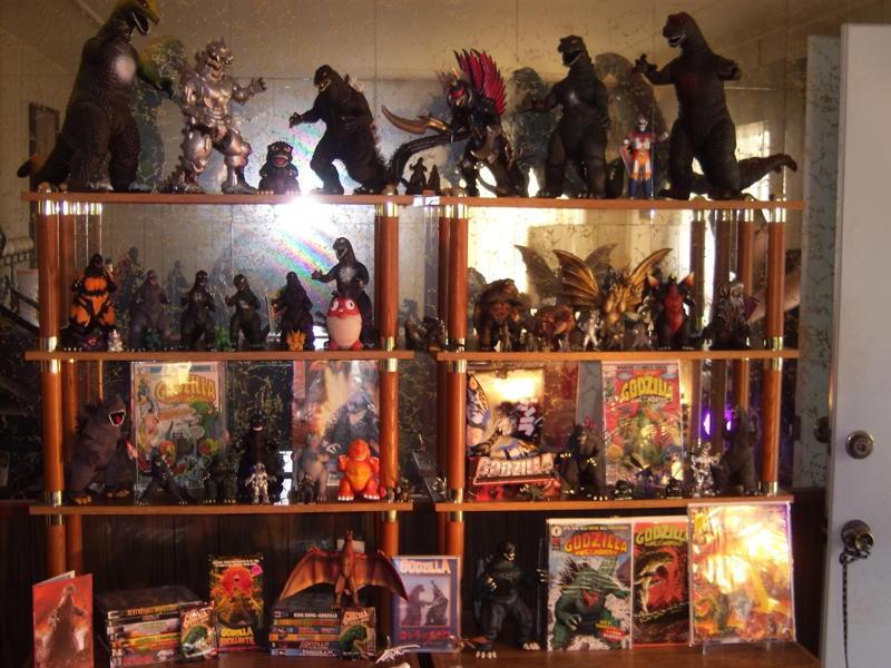 Godzilla collection January 2011
