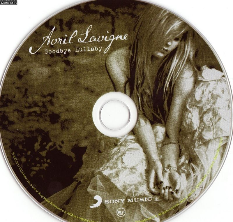 Goodbye Lullaby - High Quality Booklet - avril-lavigne photo