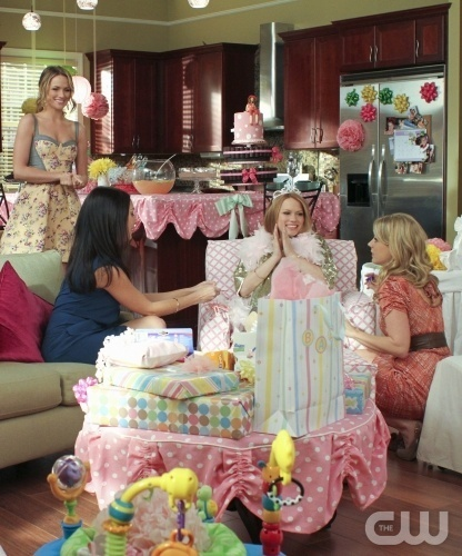 "Haley's Baby Shower- ""I Think I'm Gonna Like It Here"" 8x16"
