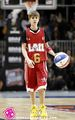 JUSTIN BIEBER @ THE CELEBRITY pallacanestro, basket GAME 2