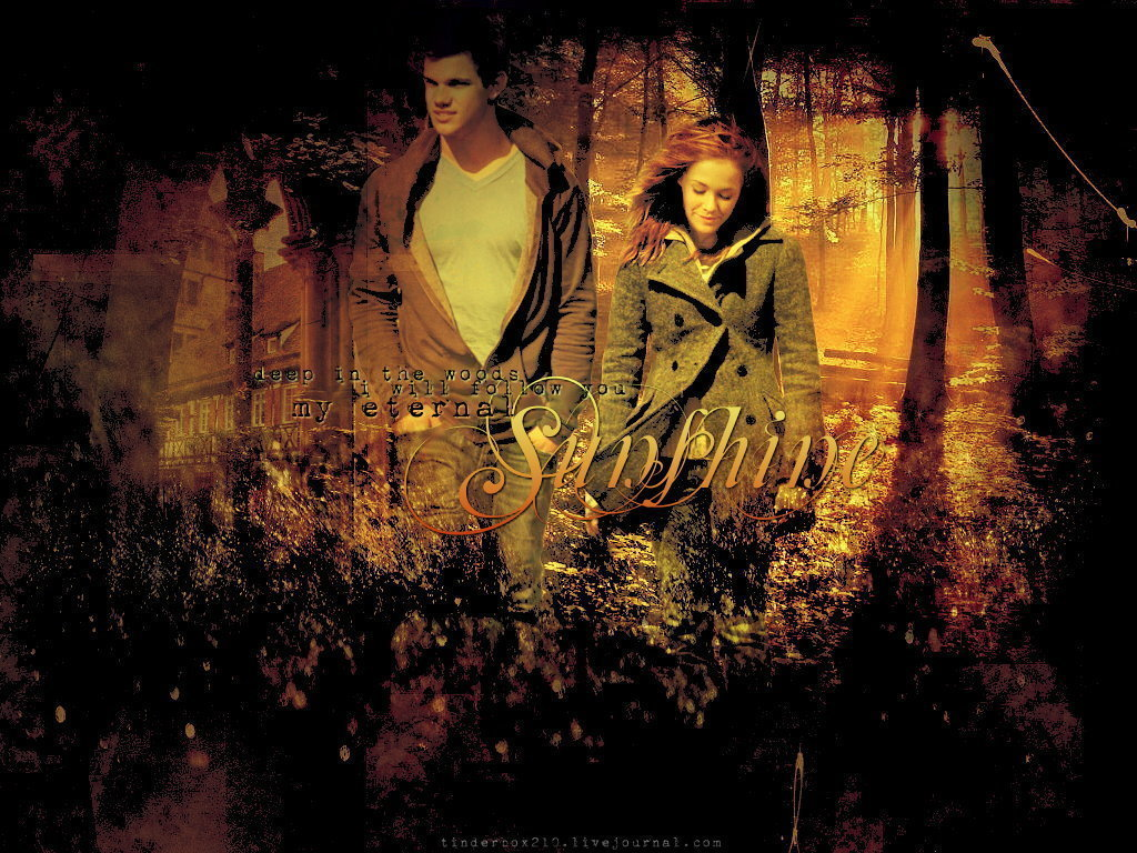 jacob black and renesmee cullen - HD 1024×768
