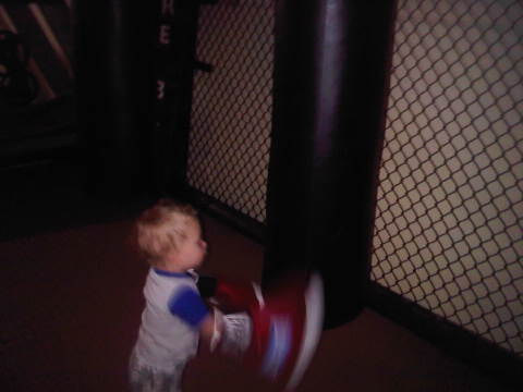 Jaxon in training:))<3