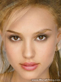 Jessica Alba and Natalie Portman - celebrities fan art