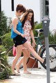 Jessica Lowndes & Jessica Stroup on set - March 3rd, 2011 - 90210 photo