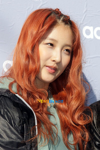 Jihyun - New hair colour