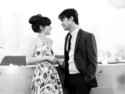 Joe & Zooey in 500 Days of Summer