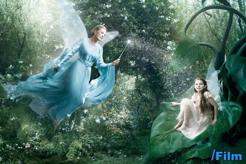 Julie Andrews as the Blue Fairy (Abigail Breslin as Apprentice)