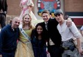 Kat, Michael, Zach, Candice and director