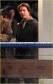 Katie Holmes & Suri Cruise Visit 'Mission:Impossible 4'