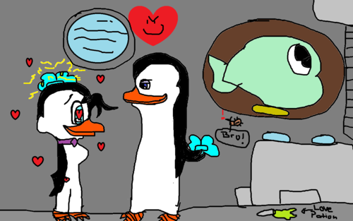 Kowalski's jealous side. -fan fiction cover!-