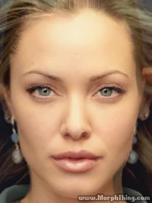 Kristanna Loken and Angelina Jolie