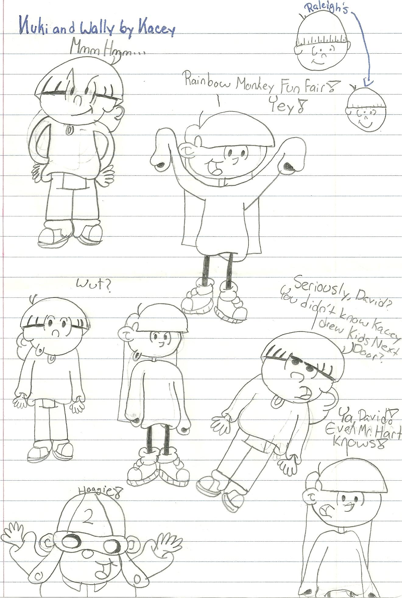 Kuki and Wally Sketches