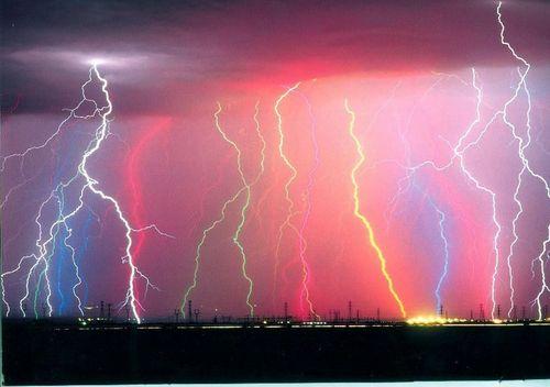 Lightning is striking agian