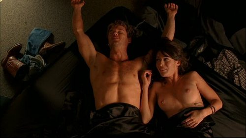 Lizzy Caplan fond d'écran called Lizzy in True Blood: The Fourth Man in the feu
