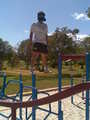 ME standing monkey bars - shaclowstalker-and-silvaze_4_life photo