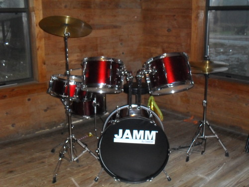 MY NEW DRUMSET! :D
