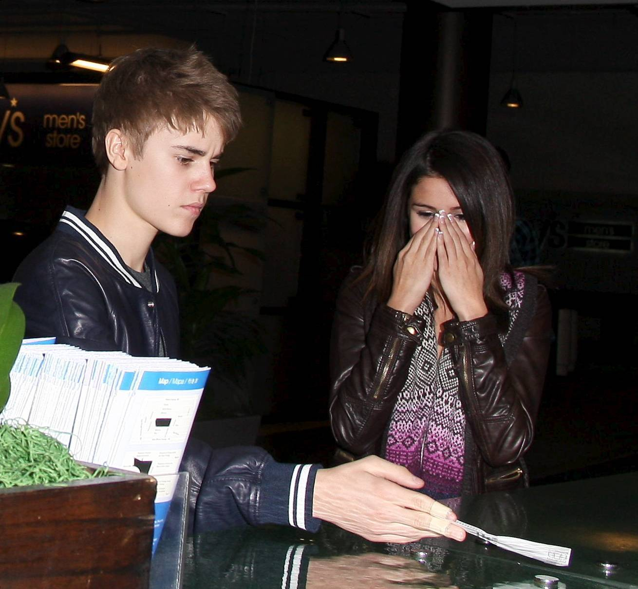 crazed head and Selena Gomez Justin Bieber break
