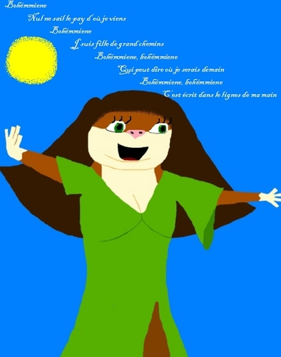 Marlene as Esmeralda