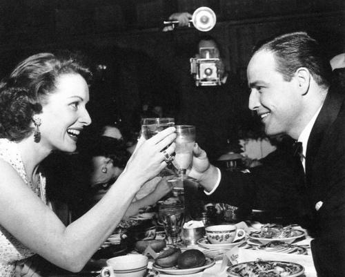 Maureen & Marlon Brando
