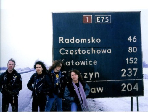 metallica in Poland